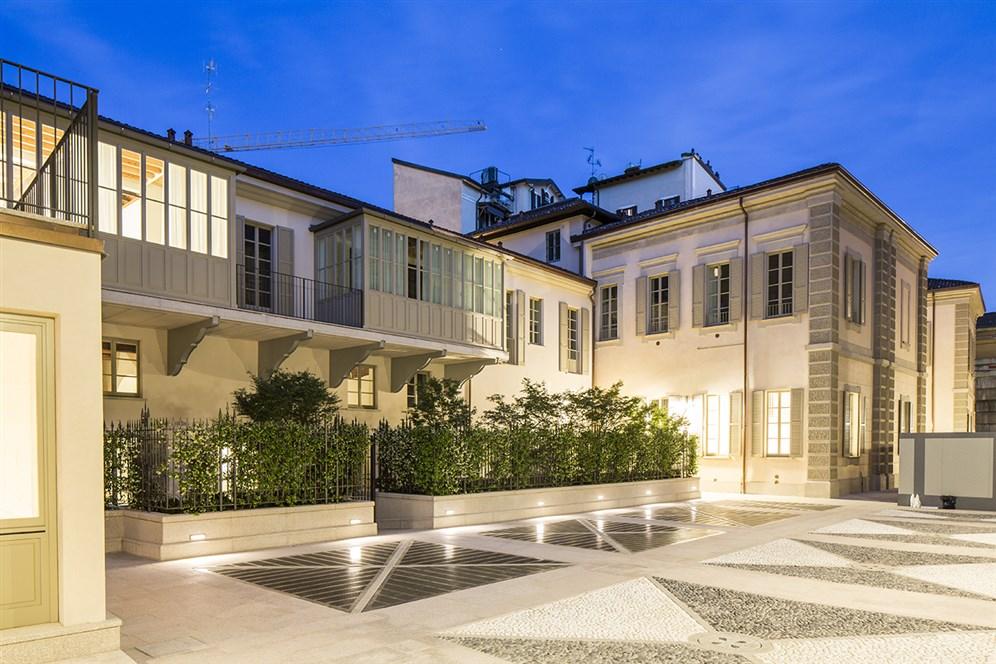 Studio selecta residenze litta studio selecta for Una casa di storia con seminterrato